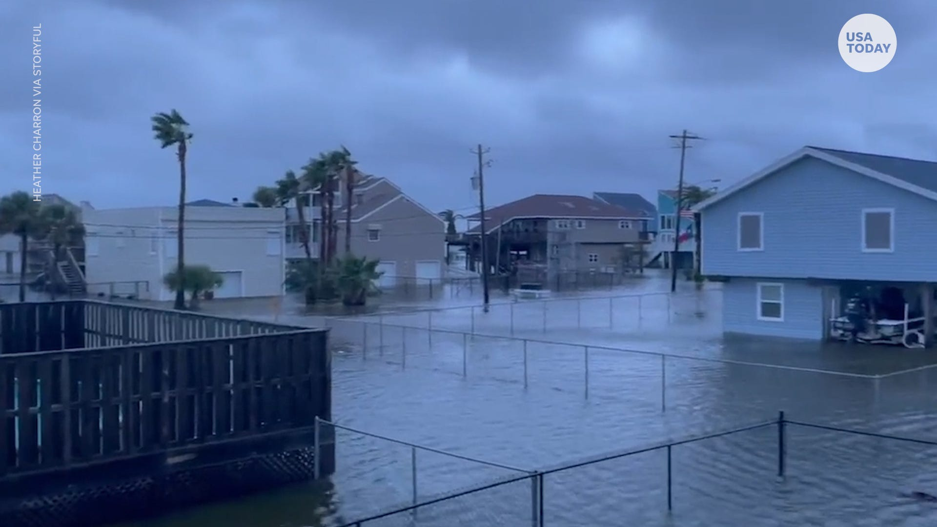 Hurricane Nicholas has turned into a tropical depression lashes Texas and soaks the Deep South