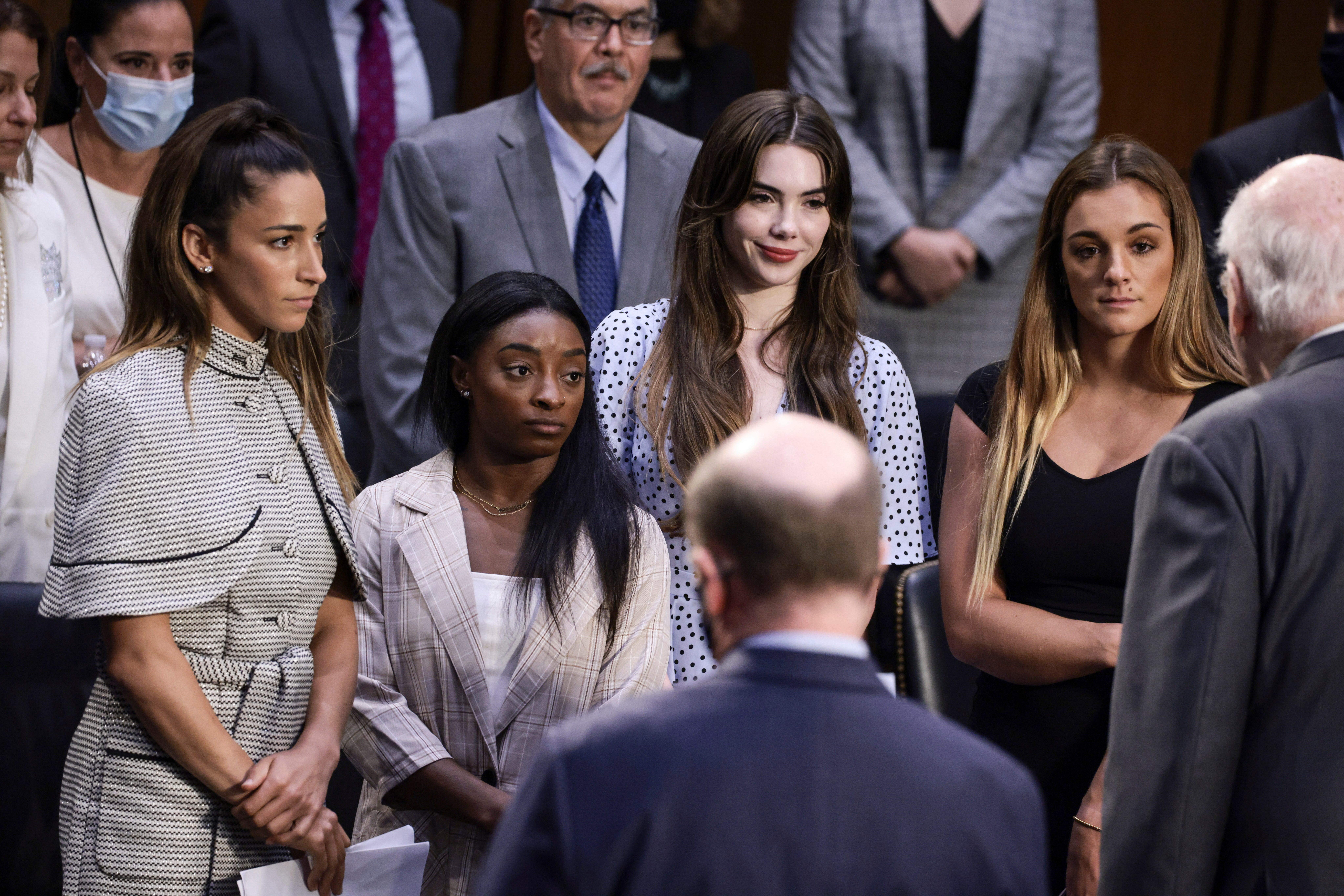 Opinion: Gymnasts bare their souls in describing Larry Nassar abuse, but are lawmakers listening?