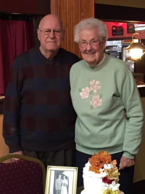 Kenneth and Doris Brown of Alliance will celebrate their 70th wedding anniversary on Sept. 22, 2021.
