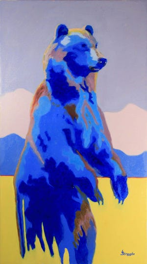 """""""Bear Clan Guardian"""" will be displayed at the Department of Interior Museum located at 1849 C Street, NW in Washington, D.C."""