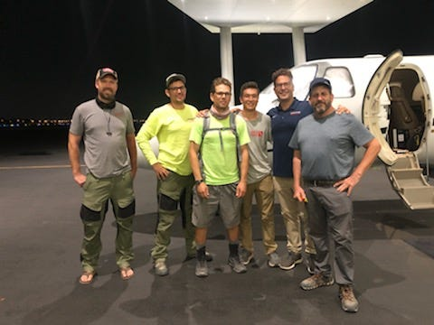 Members of the Ardmore-based Gideon Rescue Company have recently traveled to Haiti and Louisiana to help those affected by natural disasters.