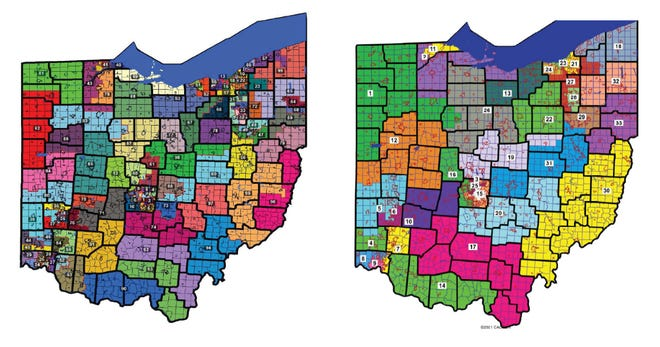 The Ohio Redistricting Commission approved four-year maps late Wednesday night.