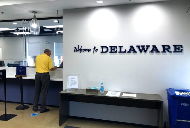 Delaware City Hall, 1 S. Sandusky St., now has a ground-level lobby to help direct visitors to different areas of the building. City Hall and the Delaware County Historic Courthouse, 91 N. Sandusky St., will hold simultaneous open houses from 1 to 3 p.m. Sept. 26 to showcase the extensive renovations completed at each site.