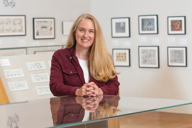 Jenny Robb, curator of the Billy Ireland Cartoon Library and Museum at Ohio State University