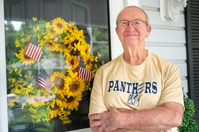Former Army Capt. Kevin McClelland at his home in Mount Dora.