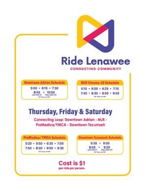 Ride Lenawee