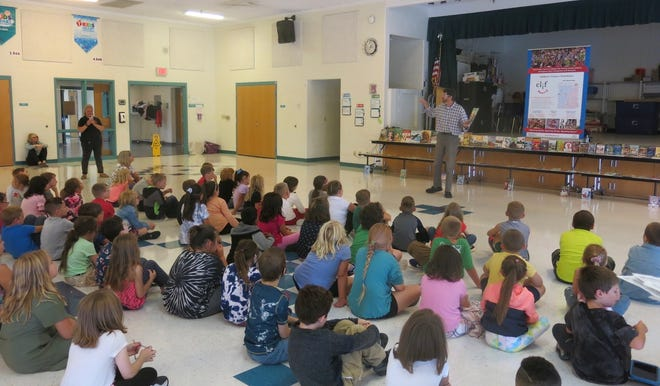 On Thursday, Sept. 2, Valley View kicked off a year celebrating reading,writing and literacy.