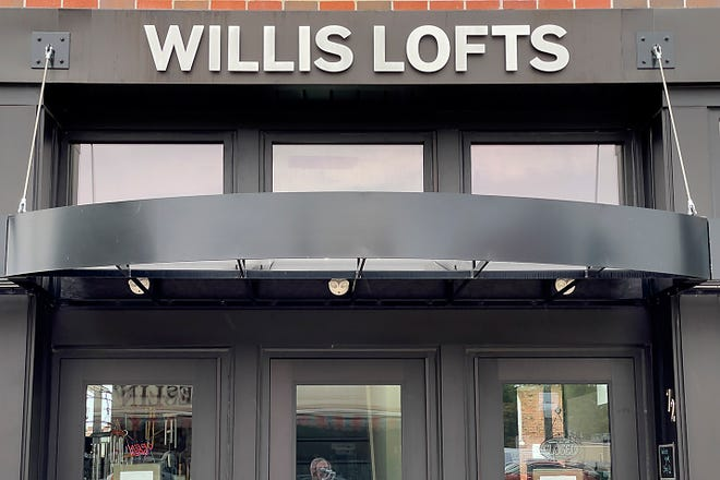 Willis Lofts are located at 68 and 70 N. Seminary St.