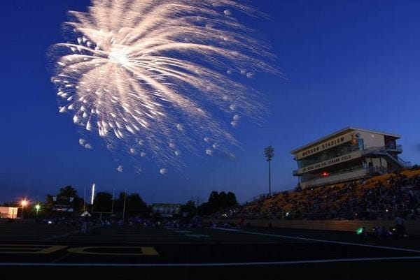 """Munson Stadium in Denison will be the site of this weekend's """"Back to Church"""" Sunday."""