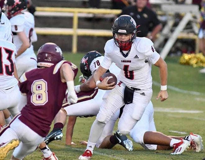 Jesse Bowers, a junior quarterback at Landrum, has had a breakout year for the Cardinals.