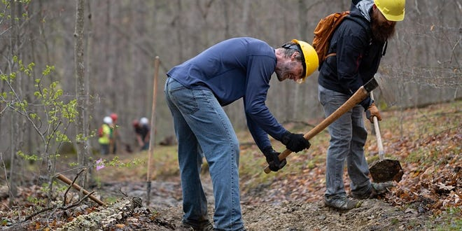 Give Back to Public Lands Day is an opportunity to help maintain the natural areas that are available to the public through the Hoosier National Forest. All ages of volunteers are welcome to participate on Saturday, Sept. 25, and then celebrate with a picnic after all of the work is done.