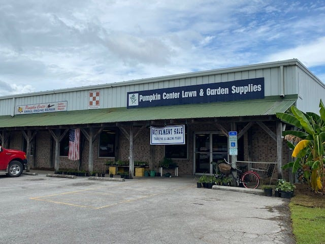 Pumpkin Center Lawn and Garden Supplies is a true mom-and-pop shop loyal customers will miss after it closes at the end of September.