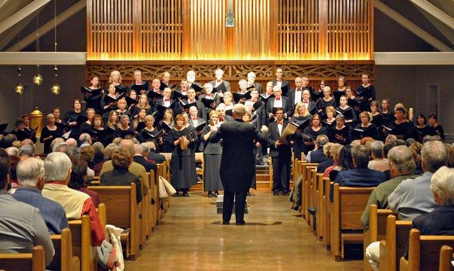 Pilgrim Festival Chorus in concert at St. Bonaventure Parish in Plymouth.