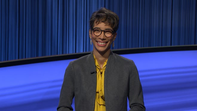 Keisha Virtue, a senior retail research analyst from Boca Raton will compete on Jeopardy! on Thursday, Sept. 16, 2021.