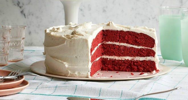 Anne Byrn's Red Velvet Cake