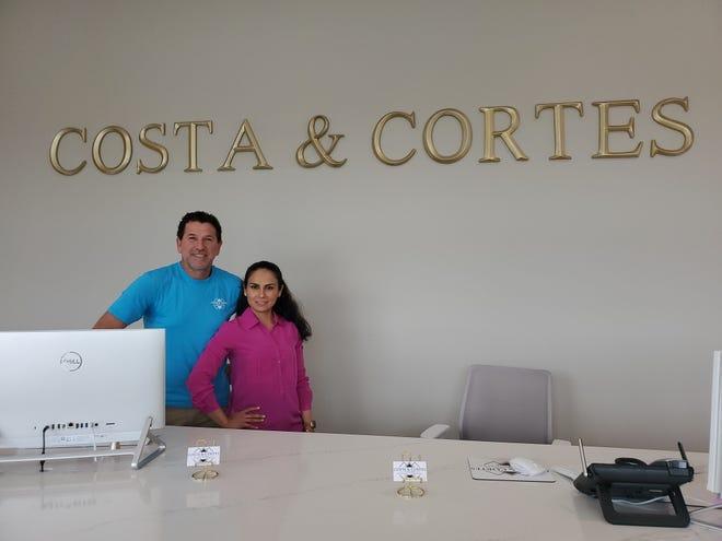 Helder Costa and Erika Cortes of Costa & Cortes Custom Flooring make customer service their ultimate priority.