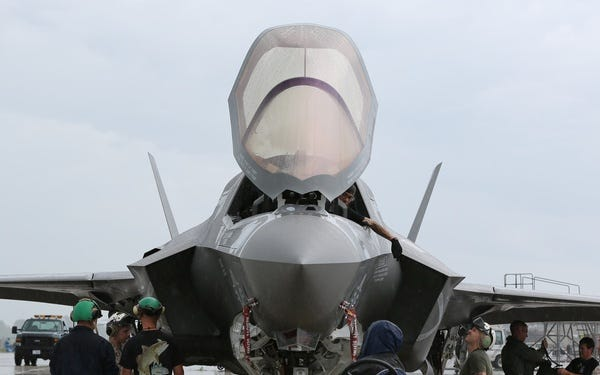 Over the next decade, MCAS Cherry Point will welcome F-35 joint strike fighters to its campus.