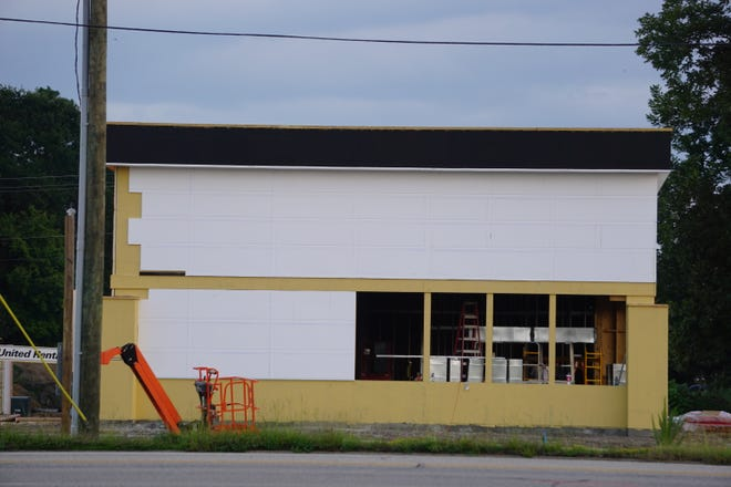 A Panda Express restaurant is under construction at 3103 Raeford Road, Fayetteville.