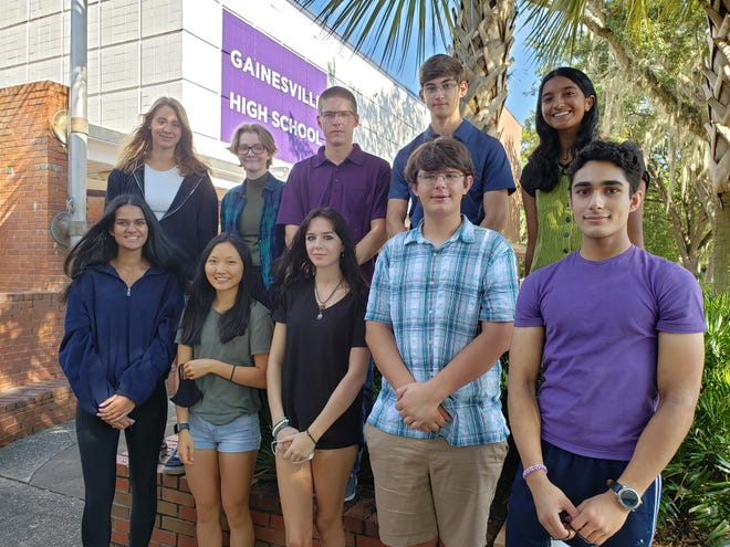 Gainesville High School has 10 semifinalists for the National Merit Scholarship.