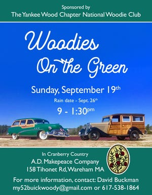 """The show will be displaying 20 to 30 """"woodies"""" from all over the eastern United States."""