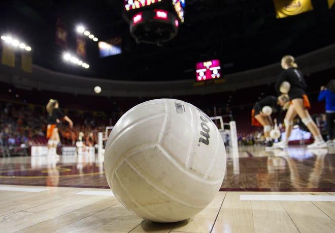 Generic girls volleyball shot