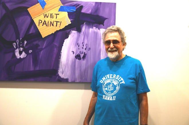Artist Robert Tynes settled in the Black Mountain area.