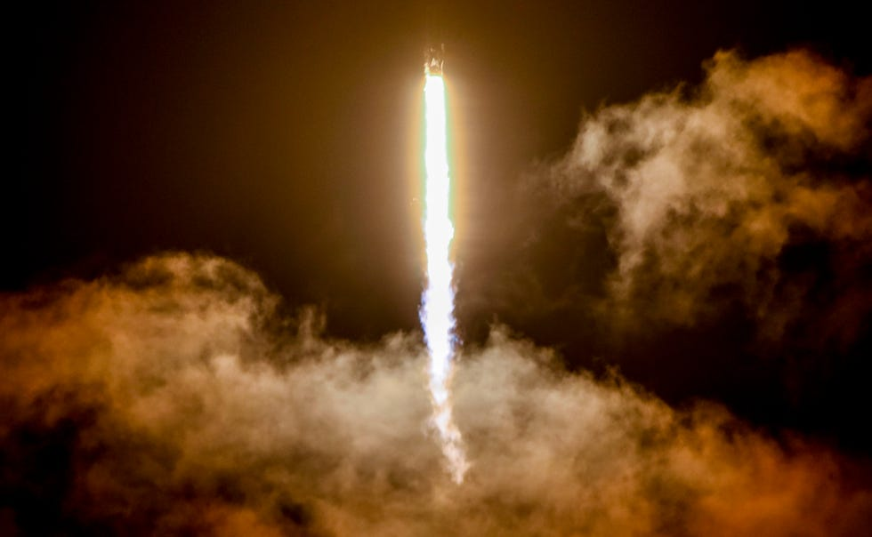 The vision for Inspiration4 began just 10 months ago, Jared Isaacman said. The rocket blasted into orbit Wednesday night.