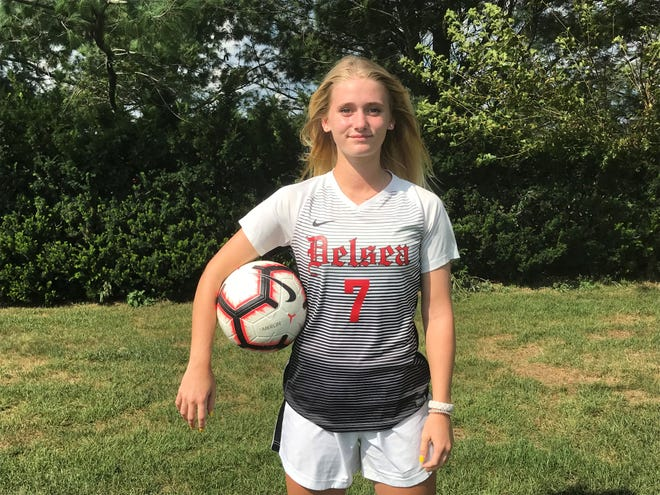 Riley Boucher has played a key role in Delsea's fast start as the senior is one of South Jersey's top goal scorers over the first 10 days of the season.