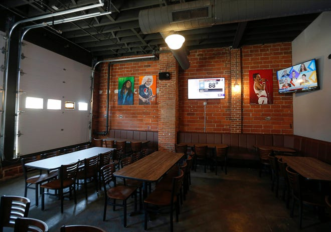 Quinton's Bar and Deli on East Grand Avenue in Des Moines reopened on Wednesday, Sept. 15, 2021, after a lengthy remodeling.