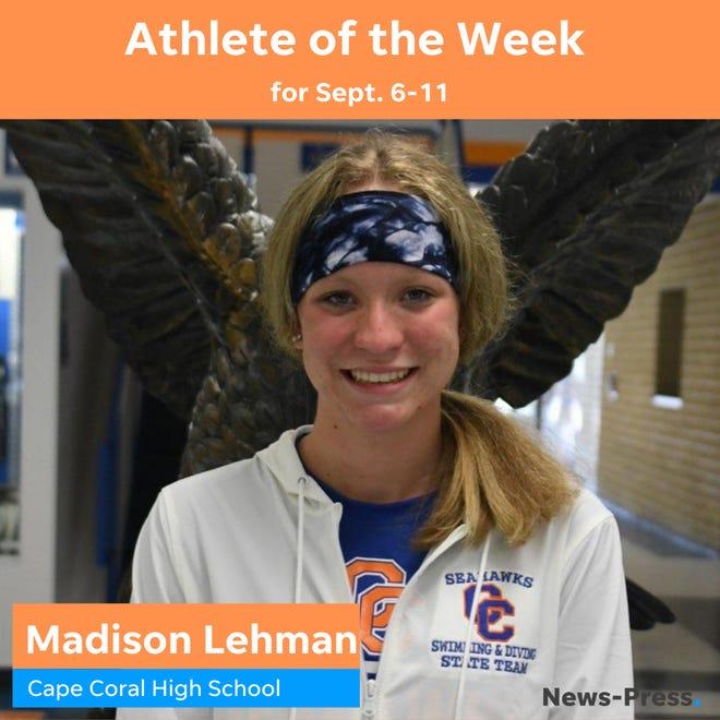 Madison Lehman Athlete of the Week