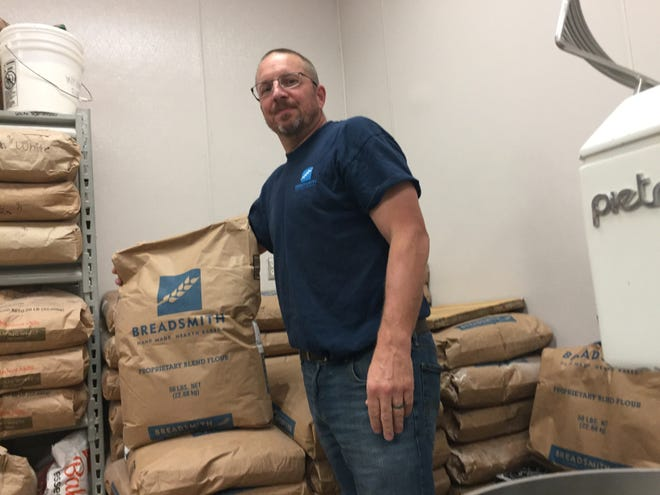 New Breadsmith owner Bret Van Asten is inspired by the potential for growth.