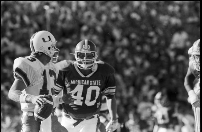 MSU's 26-20 loss to eventual national champion Miami in 1989 remains one of the more epic and memorable games at Spartan Stadium.