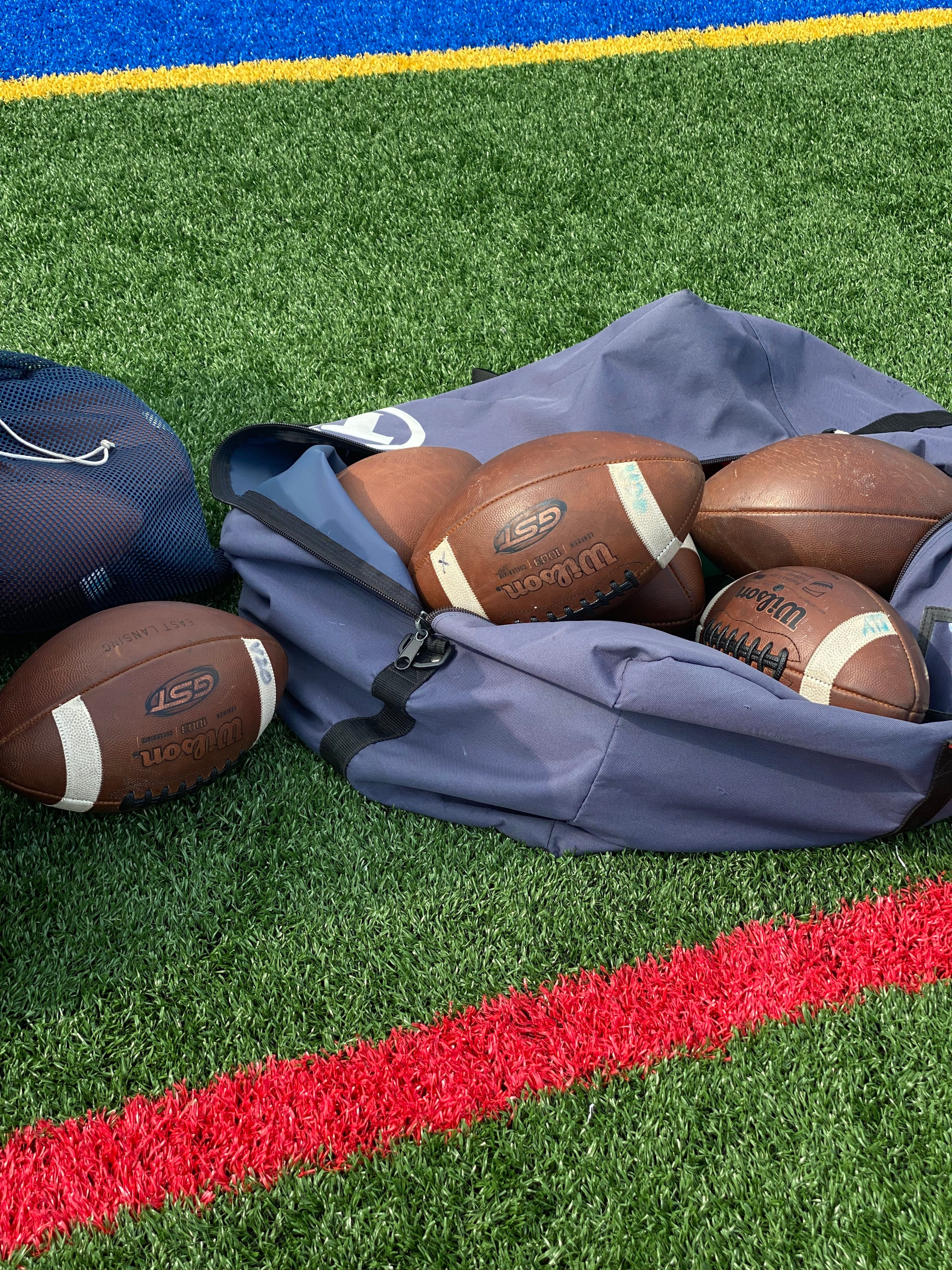 Who was the Player of the Week for the opening round of sectional football?