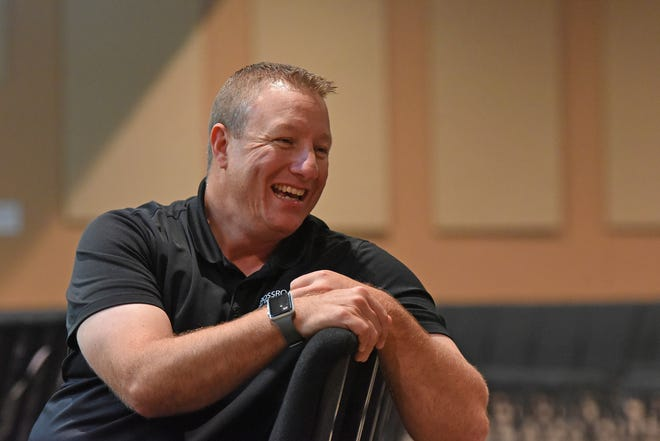 Pastor Dave Vance is excited about Crossroads Church's upcoming anniversary on Sept. 25.