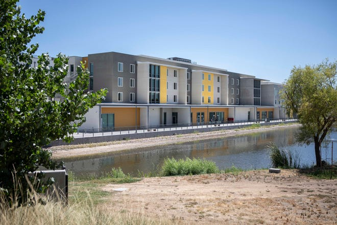 Housing facilities at UC Merced in August 2019.