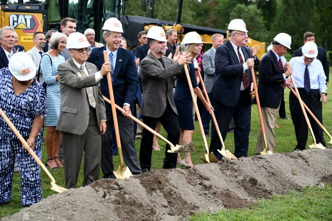 Wor-Wic Community College held a groundbreaking ceremony for the new applied technology building Thursday, Sept. 16, 2021, in Salisbury, Maryland.