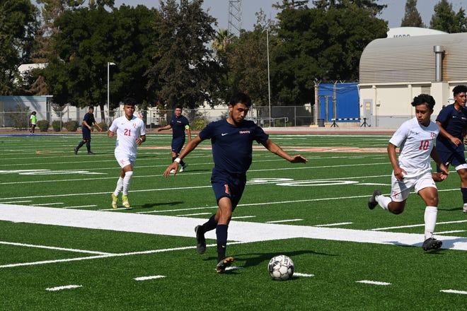 College of the Sequoias' Mathew Ramirez is one of 17 players returning for the Giants' men's soccer team this season.
