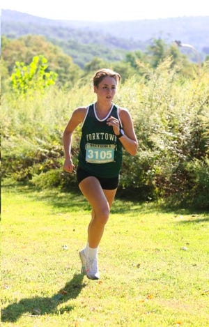 Yorktown's Sydney Leitner is the latest Con Edison Athlete of the Week.