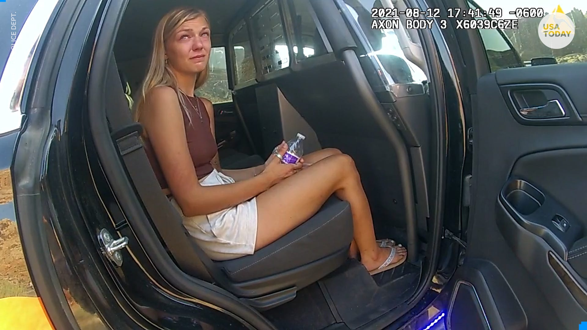 Bodycam footage shows aftermath of emotional fight between Gabby Petito and fiancé in Utah