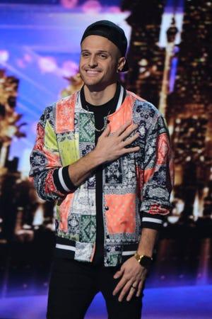 """Dustin Tavella on """"America's Got Talent."""""""