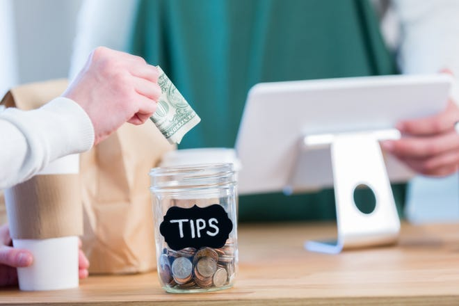 The changing restaurant landscape presented by COVID-19 can leaving customers wondering when and how much to tip.