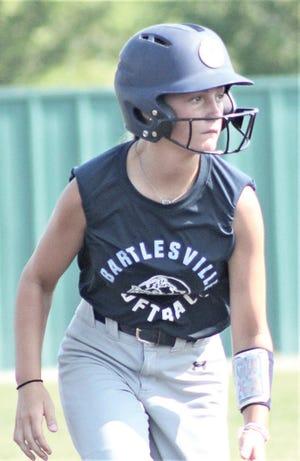 Bartlesville High School softball players have been focused on forward progress this season.