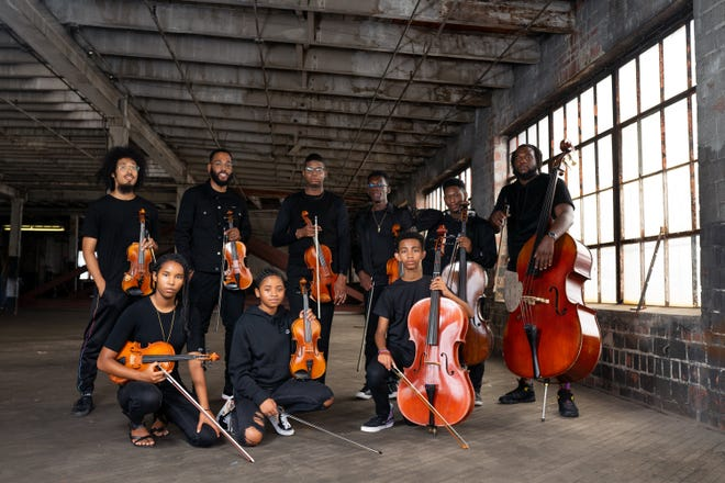 Members of the Columbus Cultural Orchestra, to perform Sept. 23 at the Lincoln Theatre.