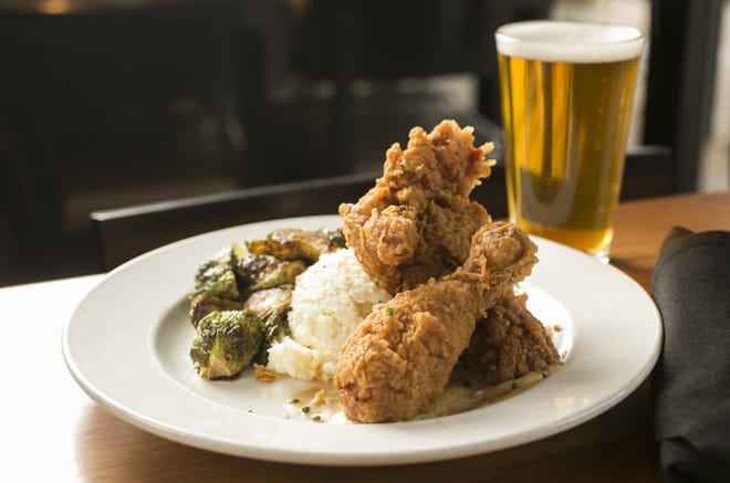 Fried chicken is anything but typical at Hubbard Grille.