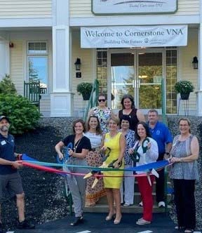 Tri-Chambers of Commerce recently held a ribbon cutting for Cornerstone VNA