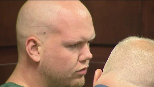 Ryan Berry appears in court in 2019 for his arraignment.