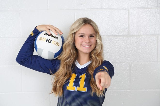 Winter Haven sophomore volleyball middle hitter Luci Lippelgoos is the The Ledger's Tremendous 10 athlete of the week.