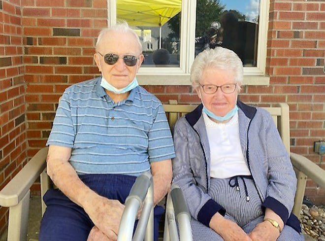 Duane and Margaret Haney celebrated their 70th wedding anniversary on Sept. 9 with family and friends.