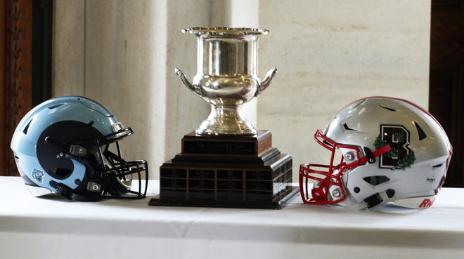 The Governor's Cup will be the goal when URI travels to Providence to face Brown on Saturday. The game was canceled last year because of the pandemic.