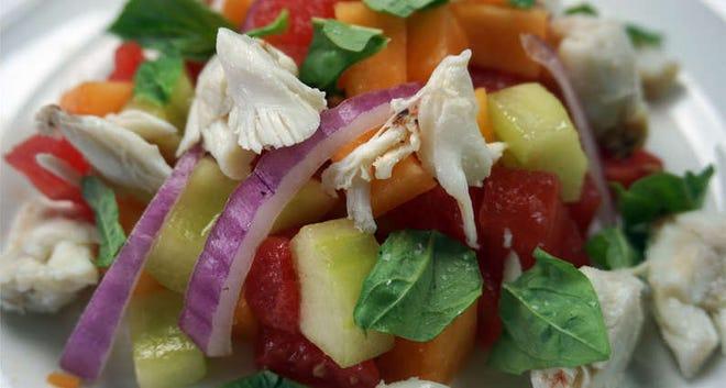 Crab and Summer Melon Salad